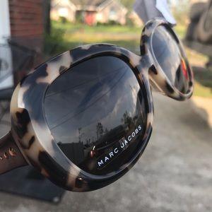 Marc Jacobs Tortoise Polarized Sunglasses NEW